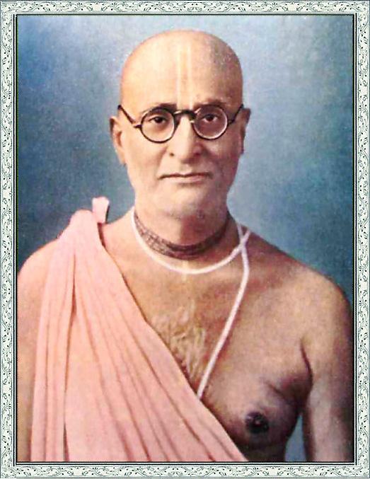 His Divine Grace Śrīla Bhakti Siddhānta Saraswatī Ṭhākura Prabhupāda