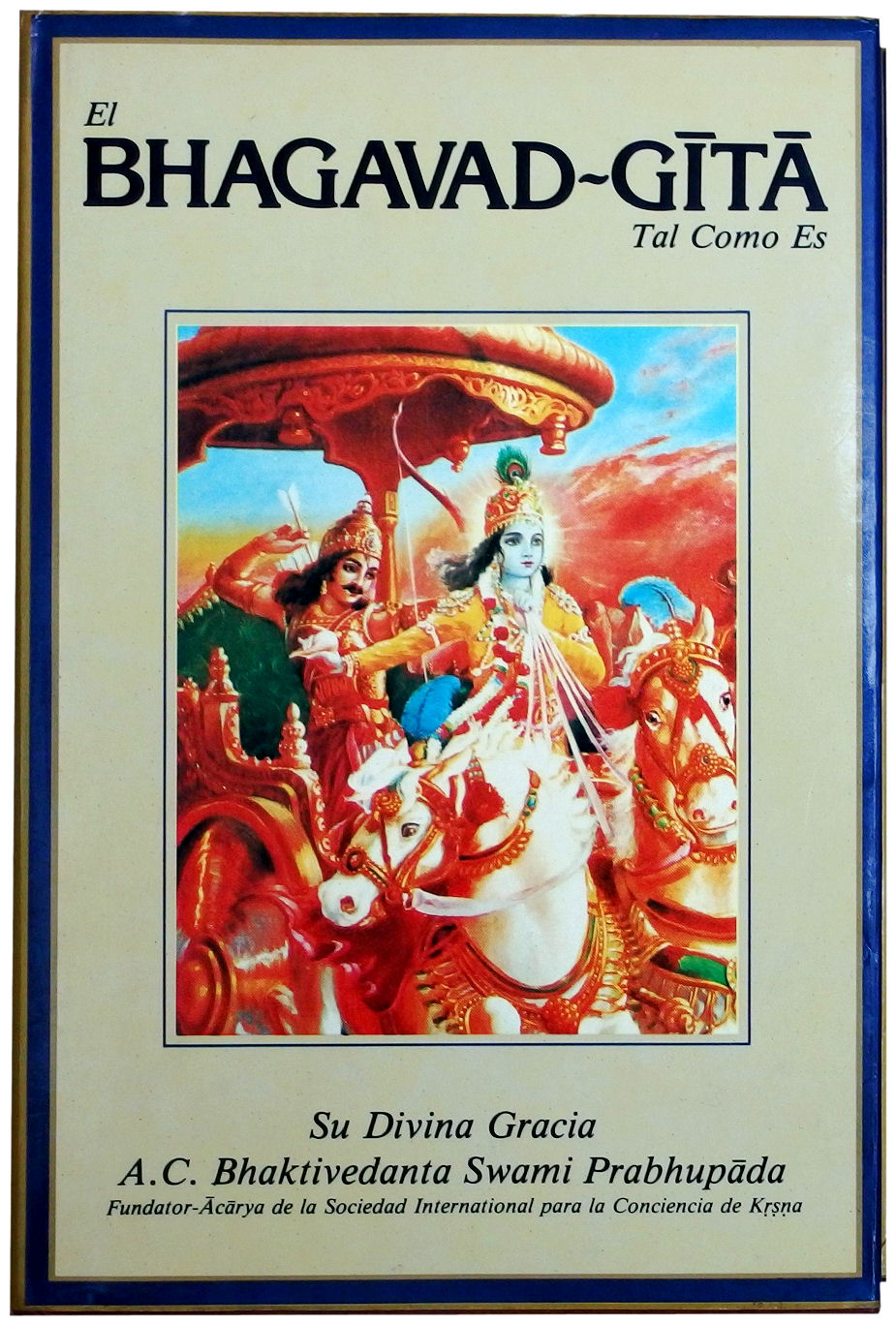 BHAGAVAD GITA TAL COMO ES PDF FREE DOWNLOAD (also gifted